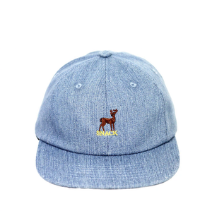 SNACK SKATEBOARDS / CAP /  BUCK DENIM HAT