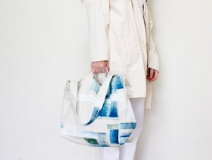 MM×iwaseyuka PAINT TOTE c/#ecru