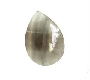 k18onestoneピアス フローライトドロップL(片耳)