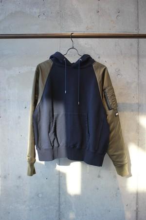 MA-1 hoodie / NAVY