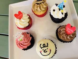 NEWバラエティパックカップケーキ【カップケーキ/ギフト】【手土産】【贈答】【可愛い】【送料無料】