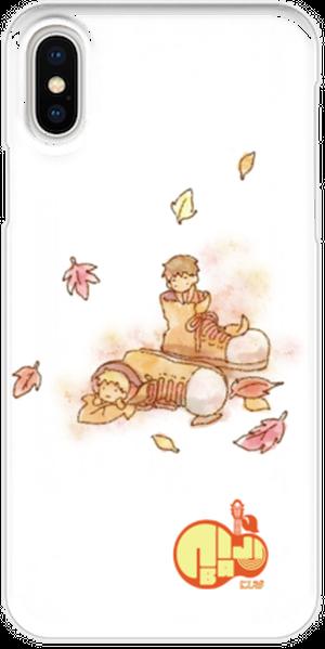 iPhoneX用スマホケース にじば 人間って素晴らしくてさ~full album~新しい僕02var.
