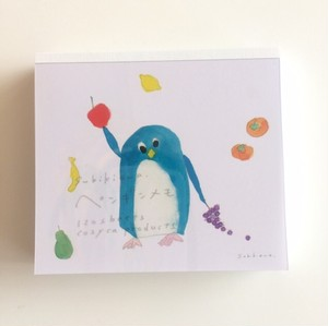 subikiawa ブロックメモ ペンギン