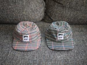 ELEMENTAL CLUB CHECK TWEED CAP