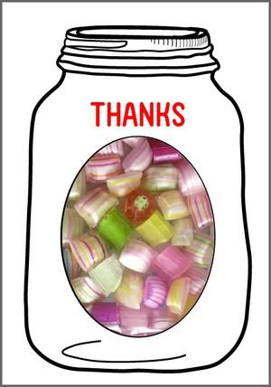 GREETING SWEETS ストライプキャンディー 選べるメッセージ