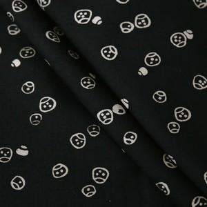 2067 単衣◆サイコロ(?)柄紬