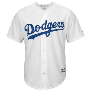 MAJESTIC マジェスティック 2052568Dodgers Los Angeles Dodgers Corey Seager Majestic White Home Cool Base Player Jersey ベースボールシャツ