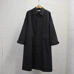 【SETTO】LEAF COAT (BLACK) (UNISEX) 21SS コート ユニセックス セット 日本製 MADE IN JAPAN