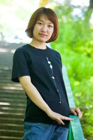 ※訳あり品【天文学】太陽系Tシャツ(SolarSystem/BlackandWhite)