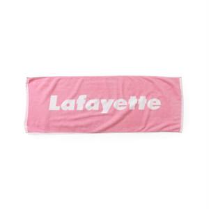 "Lafayette(ラファイエット)""Lafayette ラファイエット LOGO JACQUARD TOWEL""[PINK]"