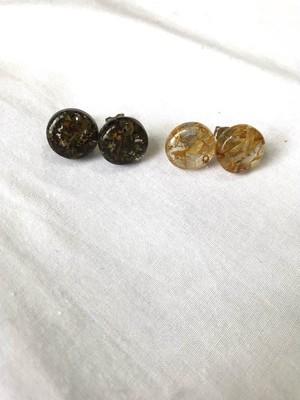 【LIGNE】Aurora marble pierce