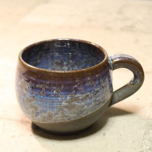 結晶釉スープカップ [Cosmo]
