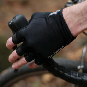 CADENCE TECH CYCLING GLOVE - BLACK
