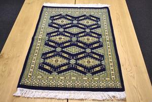 96×63 パキスタン産モダン絨毯(未使用)♯1100-0071