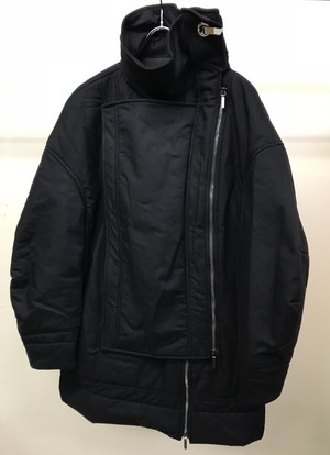 CHALAYAN LAYER PADDED JACKET BLACK
