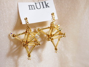 Three-dimensional Stardust PIERCE [Gold]
