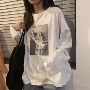 《即納》フォトプリントロングTシャツ