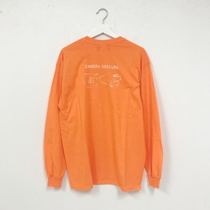 TRASH L/S TEE(ORANGE)