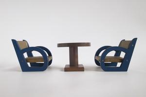 椅子とテーブルの憩いset