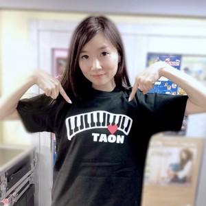 TAON(タオン)オリジナルTシャツ ブラック