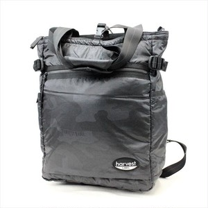 HARVEST LABEL 「NEO PARATROOPER」 2-WAY TOTE <BLACK>