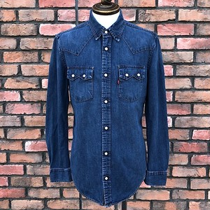 Euro Levi's Denim Shirts Made In Tunisia Small