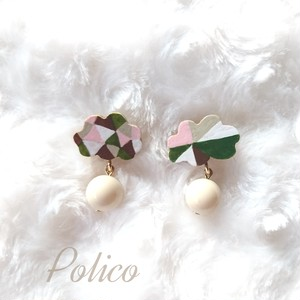 【POLICO (P)】雲ピアス