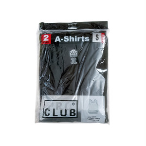 PRO CLUB - A-SHIRTS TANK TOP (Black) 2PAIR