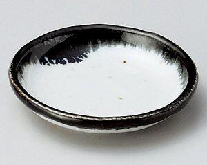 【半額セール】藍3.5丸皿【美濃焼】