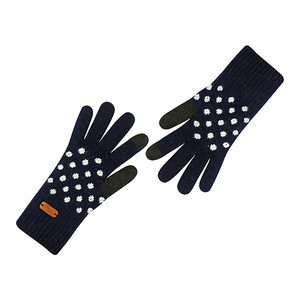 Touch screen gloves - Dancing Dot (CHARCOAL)