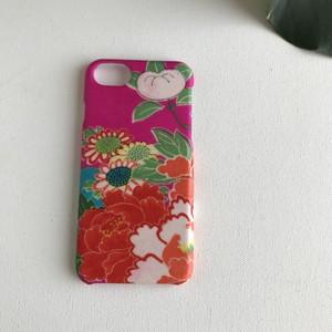 【KIMONO】鮮やかピンクに花尽くし