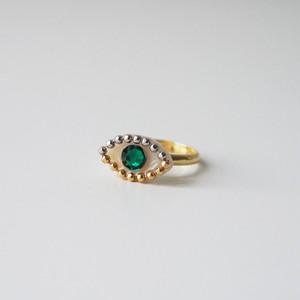 Medama Ring(Petit)-green-
