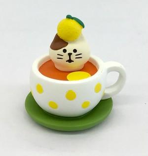 コンコンブル   ゆず紅茶猫