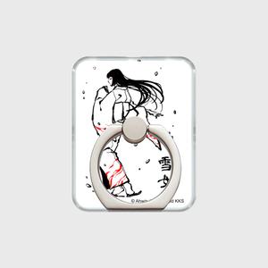 あやかし図録:雪女 オリジナル スマホリング
