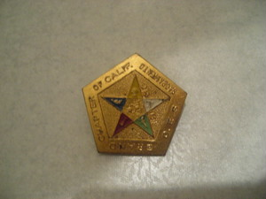 BADGE / GRAND CHAPTER OF CALIFORNIA