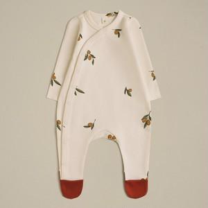 organiczoo(オーガニックズー) / olive garden suit w contrast feet