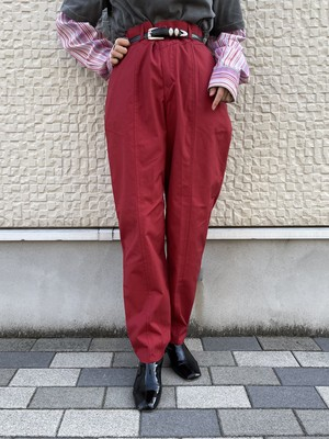 (TOYO) design tapered pants