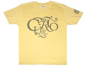 【40%OFF!!】20th Anniversary Tシャツ/ライトイエロー