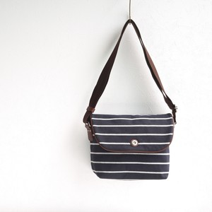BORDER FLAP SHOULDER S / DARK NAVY