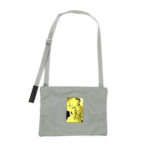 EXCHANGEABLE PICTURE SACOCHE BAG GRAY