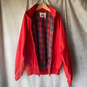 cuty red zip-up blouson/愛らしい赤色のジップアップブルゾンジャンパー