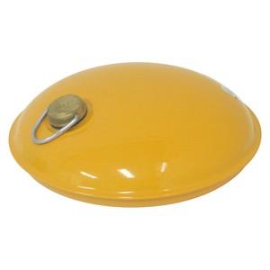 トタン製湯たんぽ Miniまる 袋付き(イエロー)