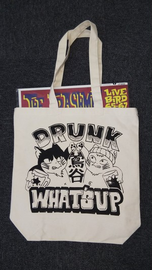 What's up トートバッグ