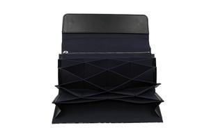 Atelier Kyoto Nishijin/西陣織シルク・カードが沢山入り過ぎるカード入れ・花柄・日本製