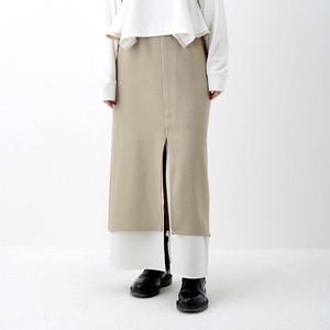 Slit Skirt - Beige