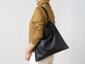 【受注製作】Holiday bag レザーブラック