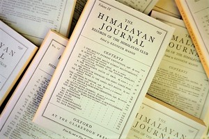 【再入荷】HIMALAYAN JOURNAL /display book