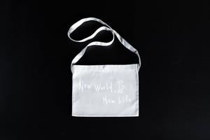 """""""New World, New Life"""" サコッシュ"""
