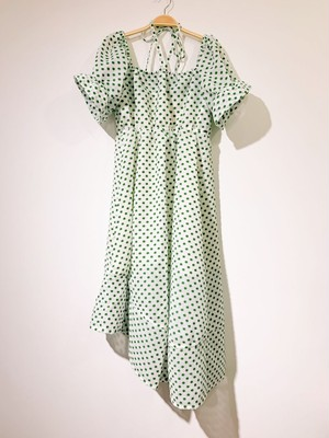 Embroidery Dress (Green)