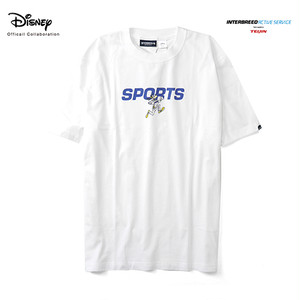 INTERBREED x DISNEY GOOFY SPORTS LOGO SS TEE